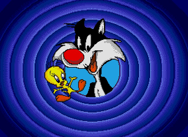 Sylvester & Tweety in Cagey Capers